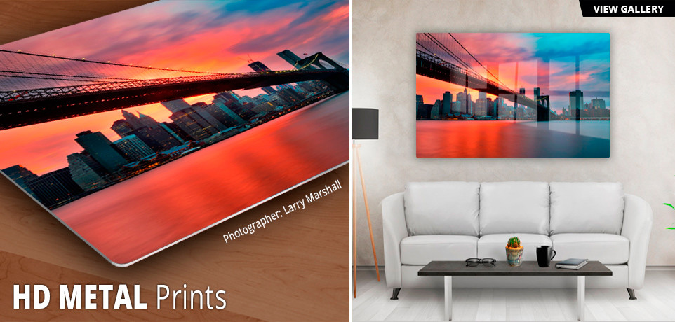 hd metal prints photographs printed on aluminum