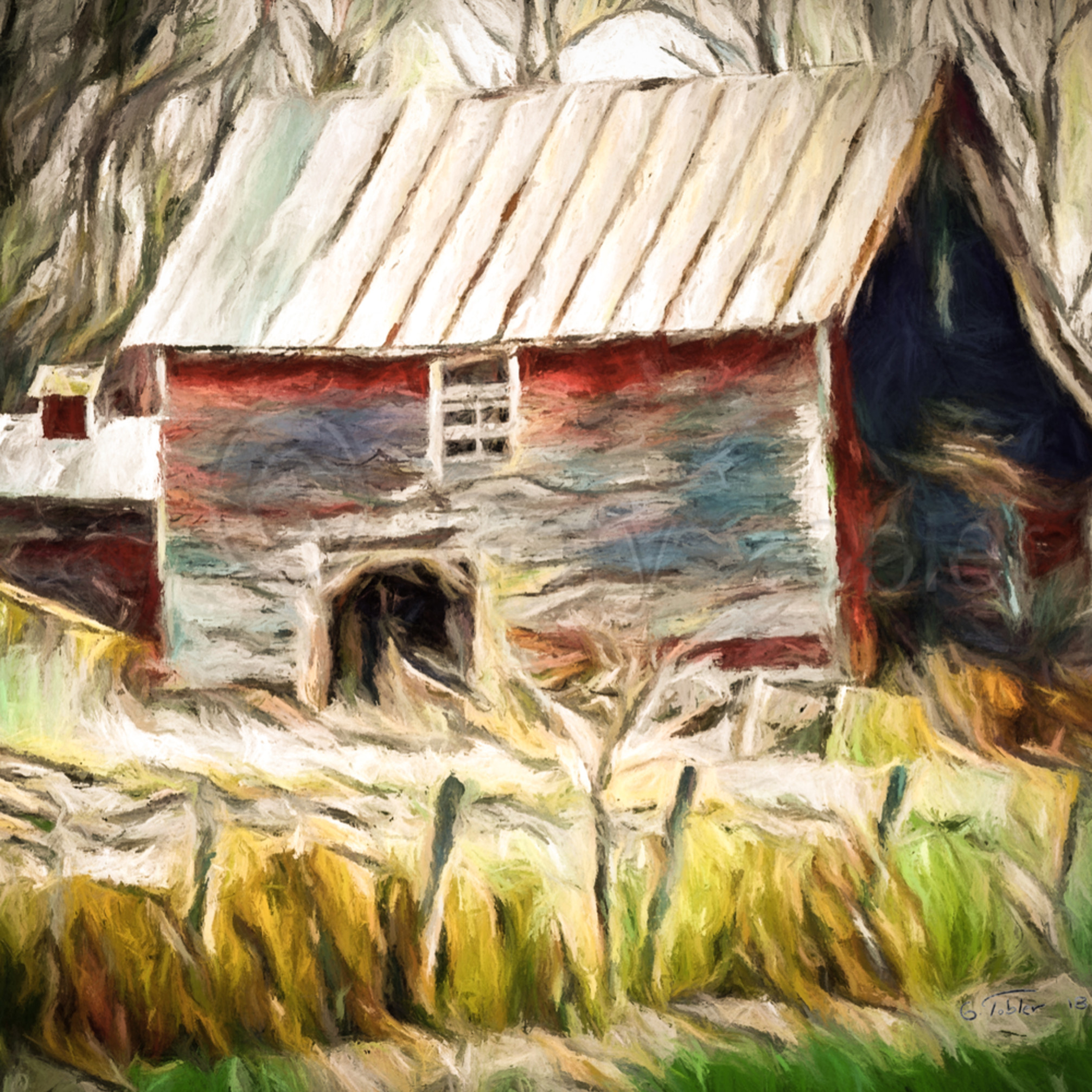 Vt barn water color ryudcu