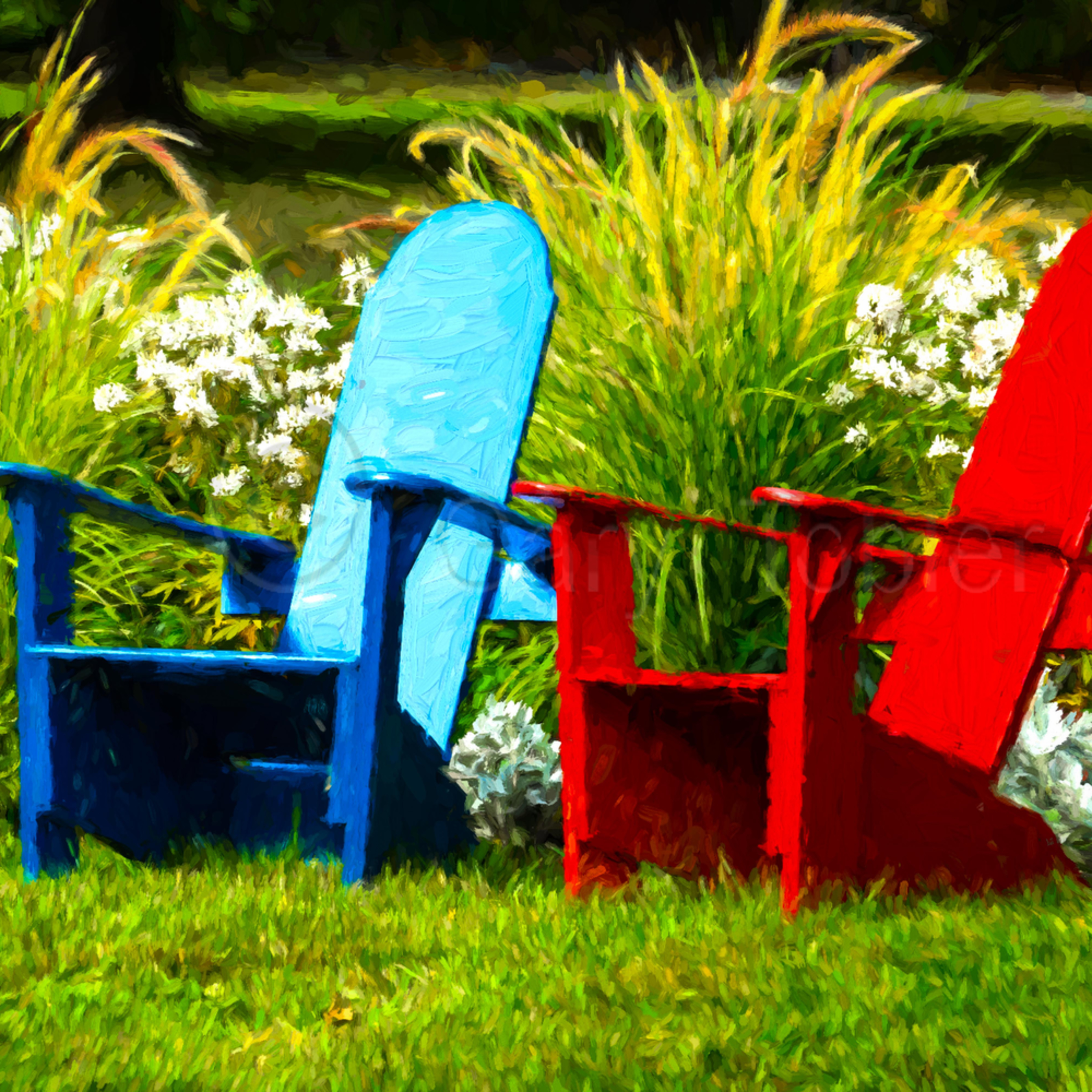 Basinharborbluered chairs usmmag