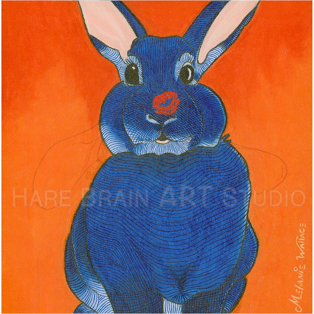 Melanie rabbitkiss 6x6c rgb dzdj06