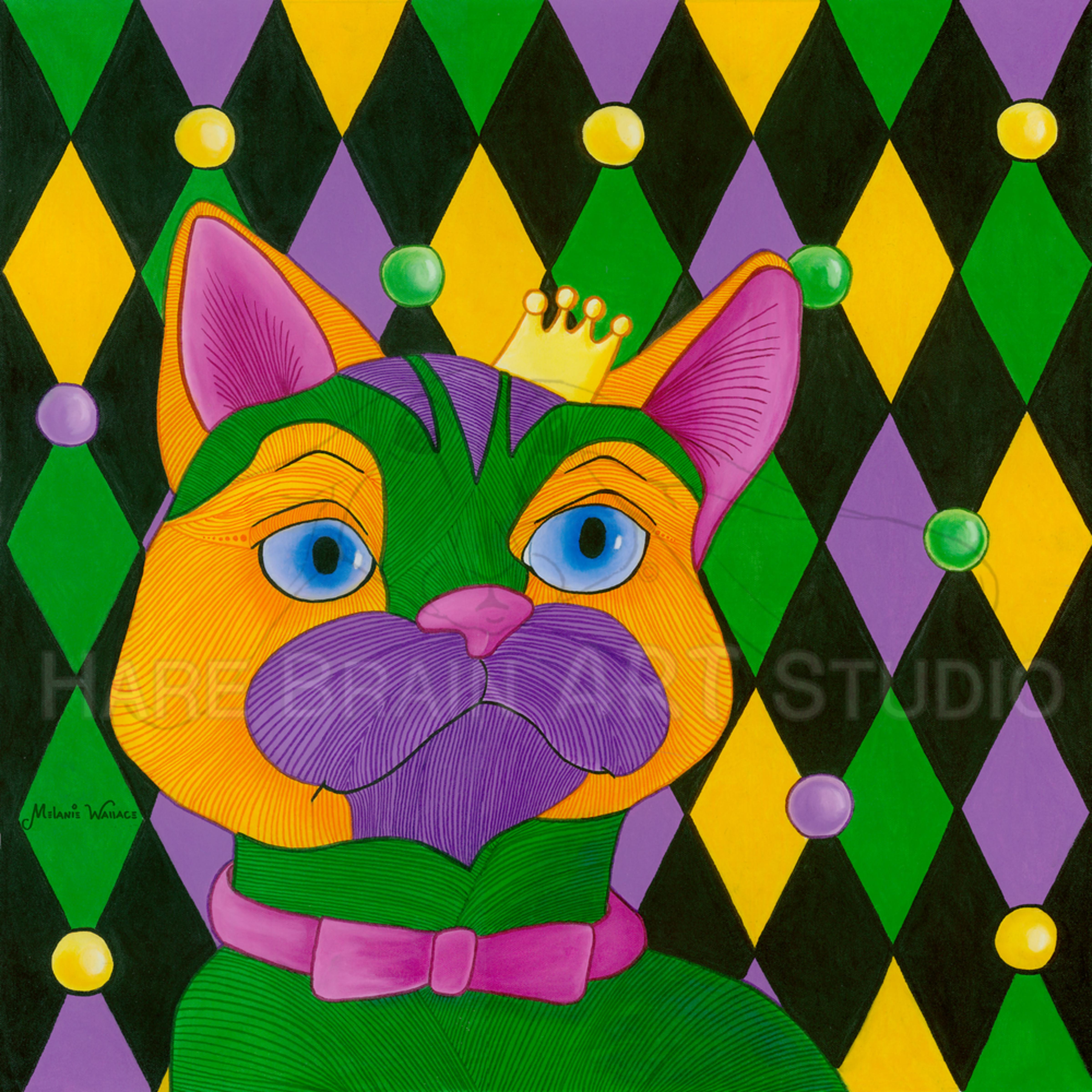 Melanie mambocat 16x16c rgb pmcqlm