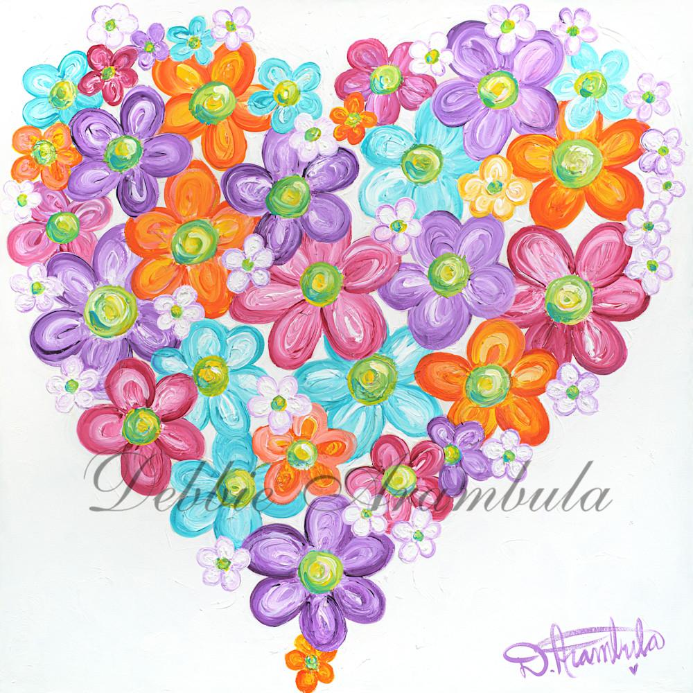 Twitterpated heart art by debbie arambula oyfudu