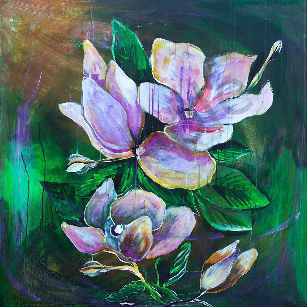 Bold magnolias by patti hricinak sheets ueeiuj