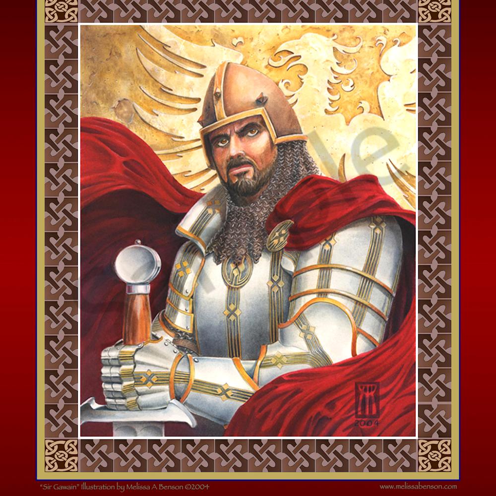 Gawain print uvdoqd