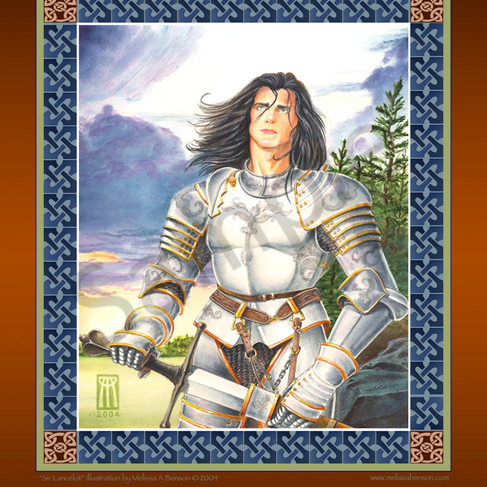 Lancelot print bkr6jy
