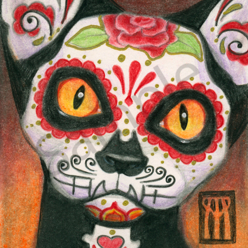 Day of the dead cat 3000 x 4170 tcw2bd