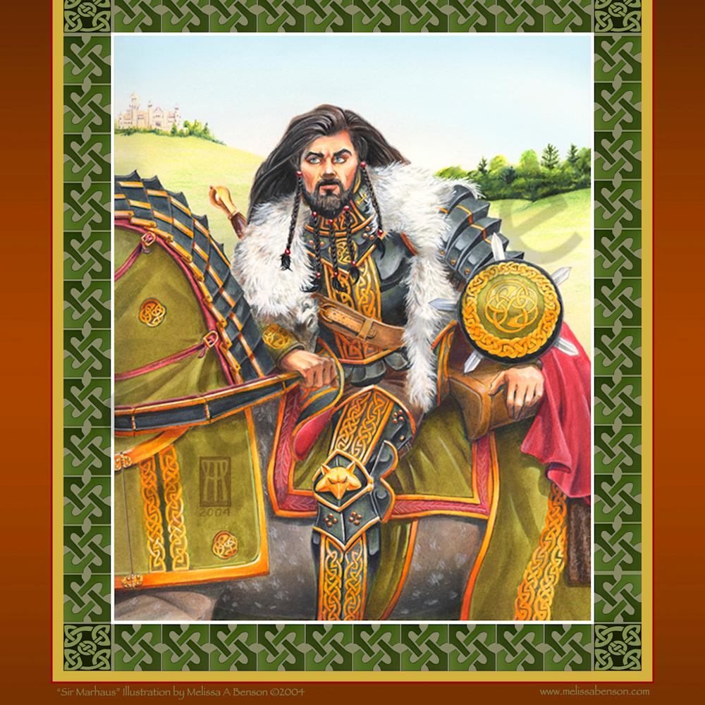 Marhaus with celtic border 4600 x 5672 200dpi dz0xfy