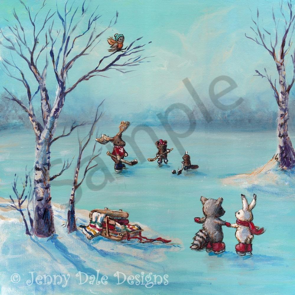 Canadian winter scene sample whlklp