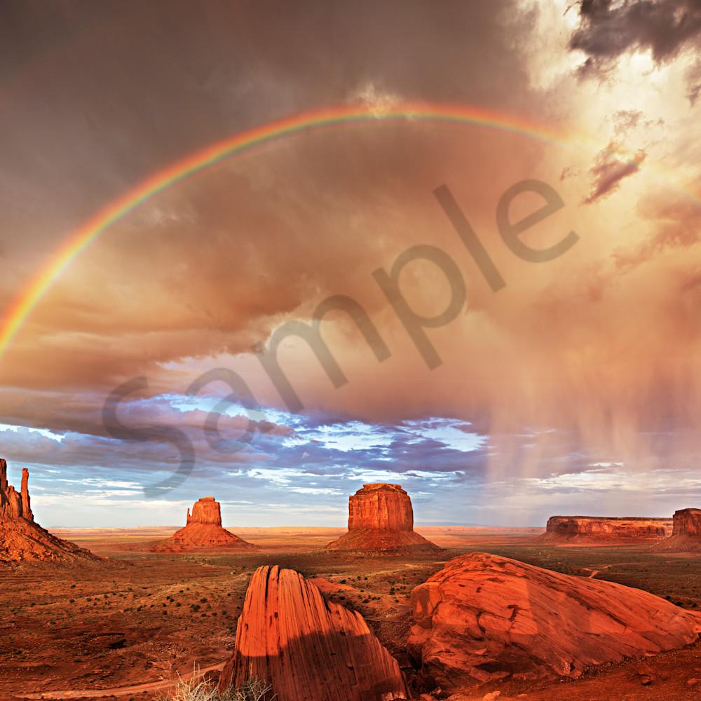 Monument valley double rainbow fsagta