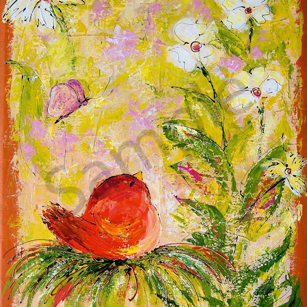 Orange bird nest xskwmb