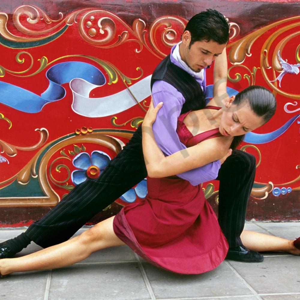 Colorful tango uqyioe