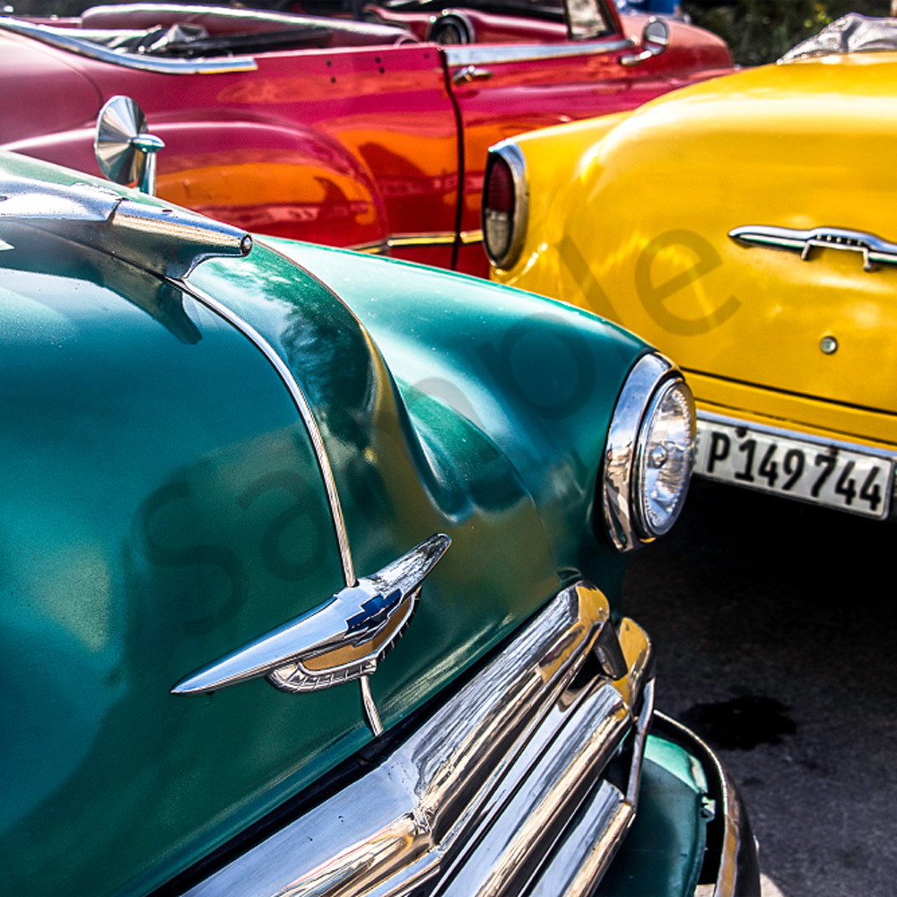 Green red yellow cars havd2f