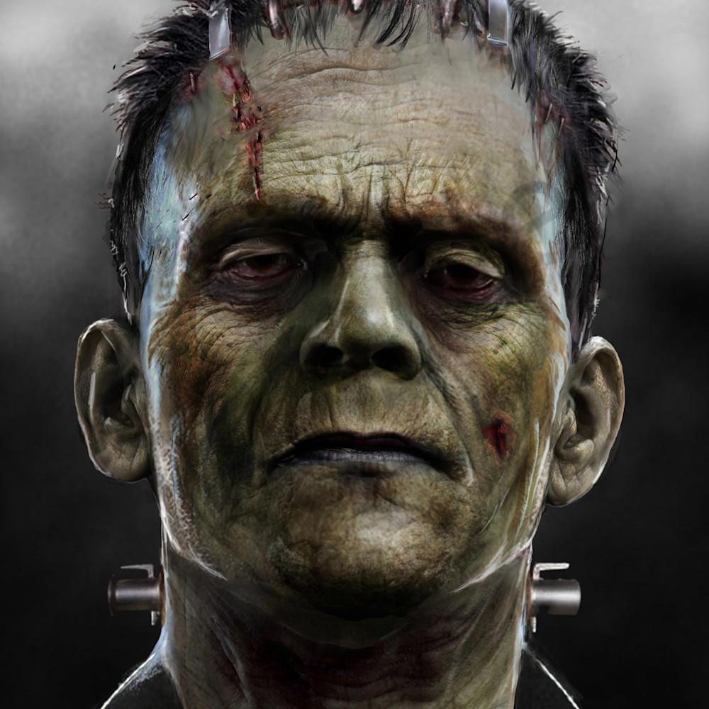 The frankenstein monster w7mrxu