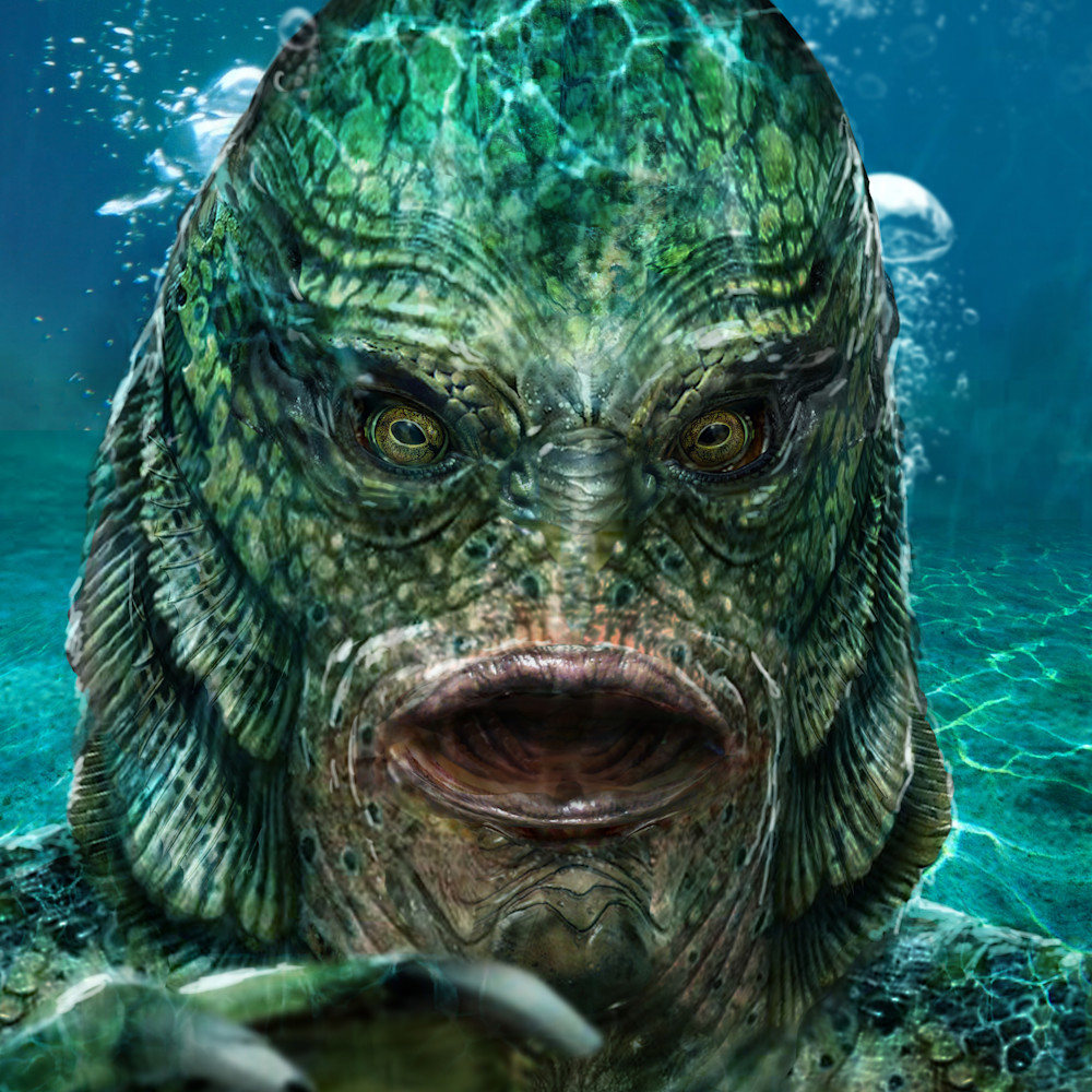 Creature from the black lagoon aijedj