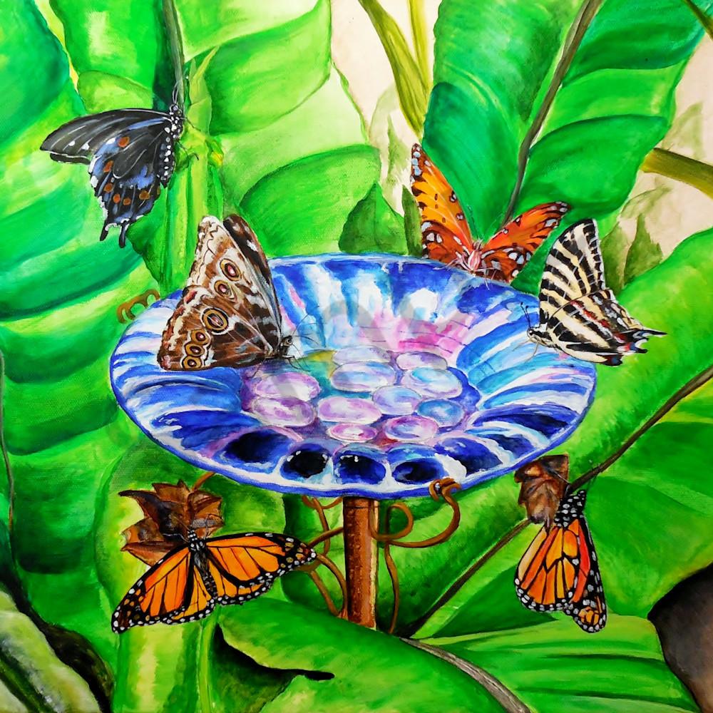Glass flower by gina harding qbhtav