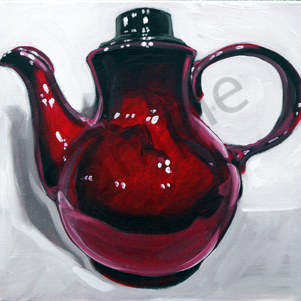 Cherry red clay pot by andrei cicala%cc%86 oqez2m