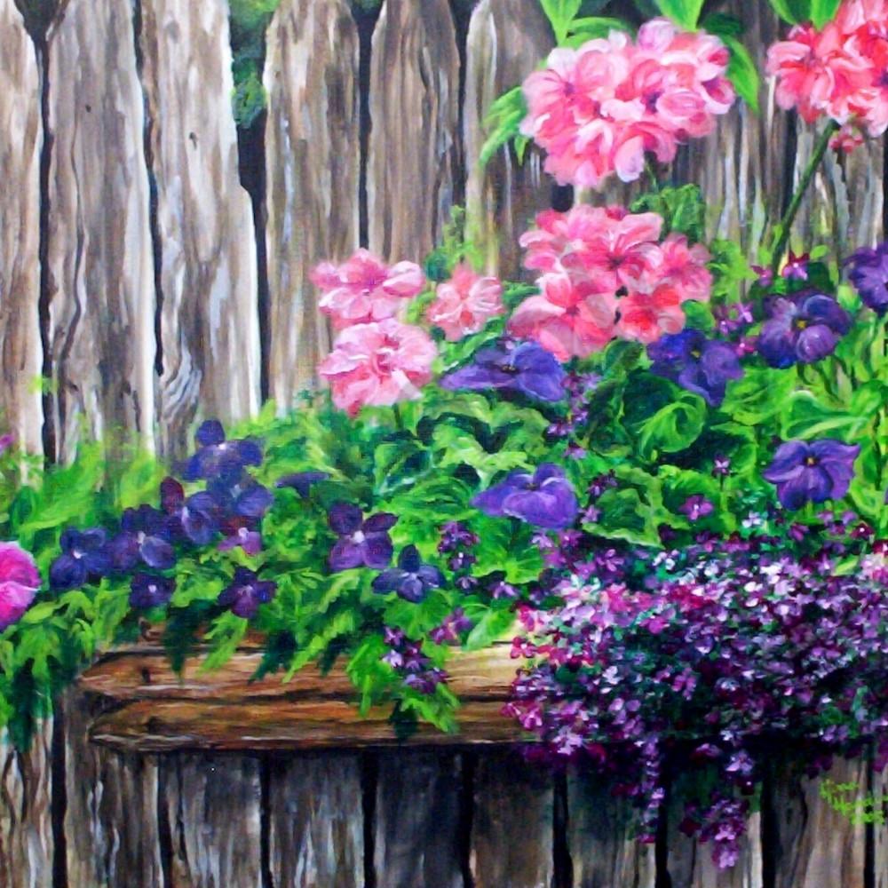 Barnwood flower box by gina harding kma6rr