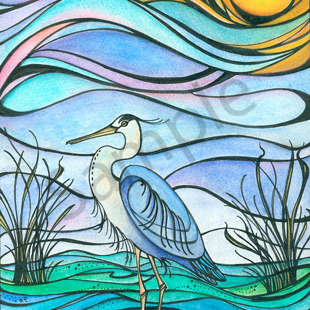 Blue heron hky0h3