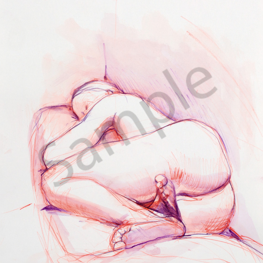 Purple orange woman print h4k8i3