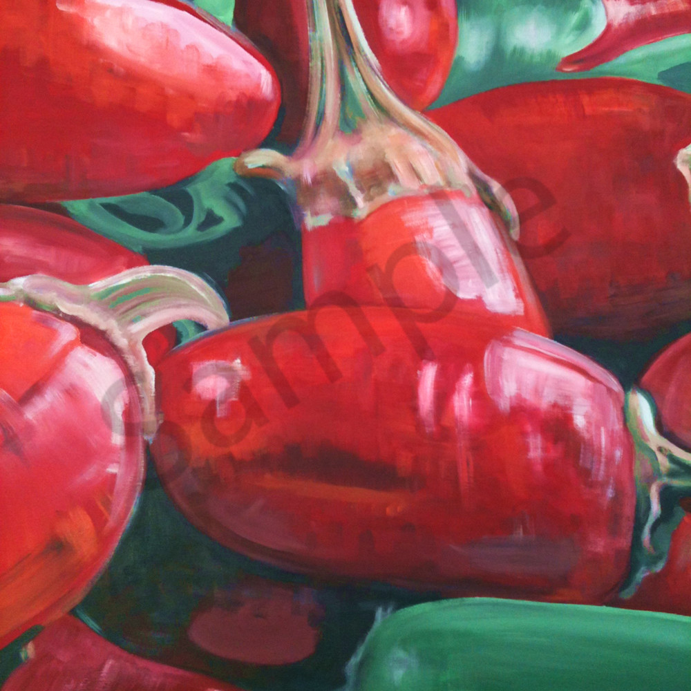 Red hot chilli peppers by steph fonteyn nou546