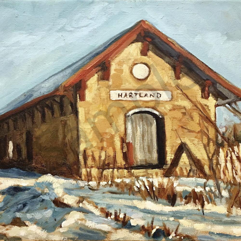 Hartland depot unframed flsq4w