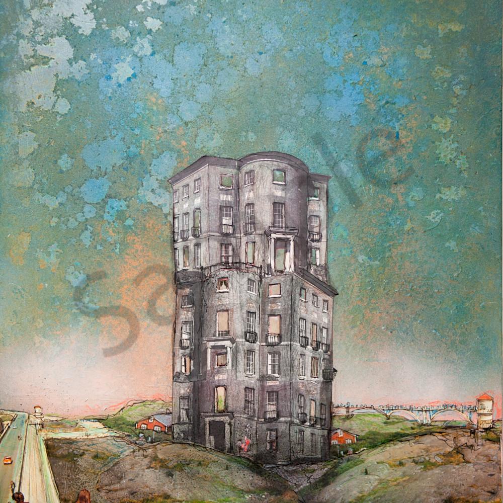 Abandoned skyscraper ls3p0m