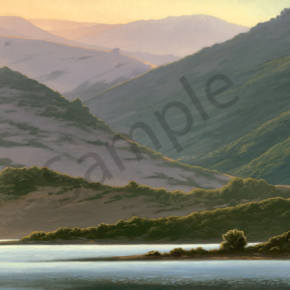 Lake hills at dawn x3xruo