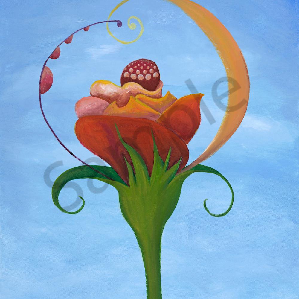 Sundae flower qjxu6p