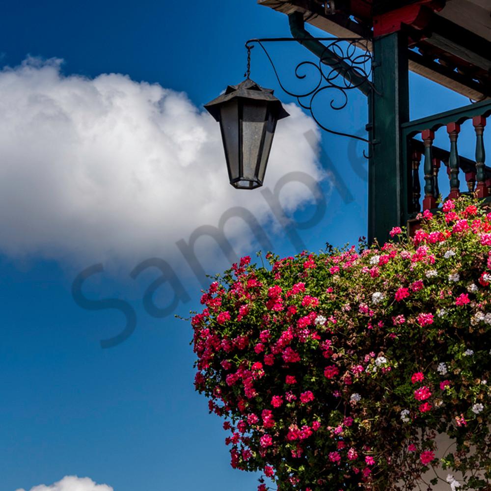 Balcony of flowers eb8abr