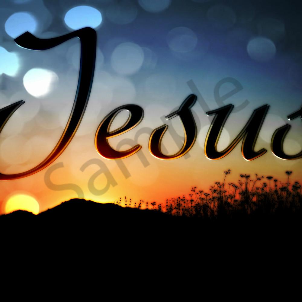 Jesus   dsc 8707 sunset hill nr cls orton efct tag antonio and bubble efct tag t2czh0
