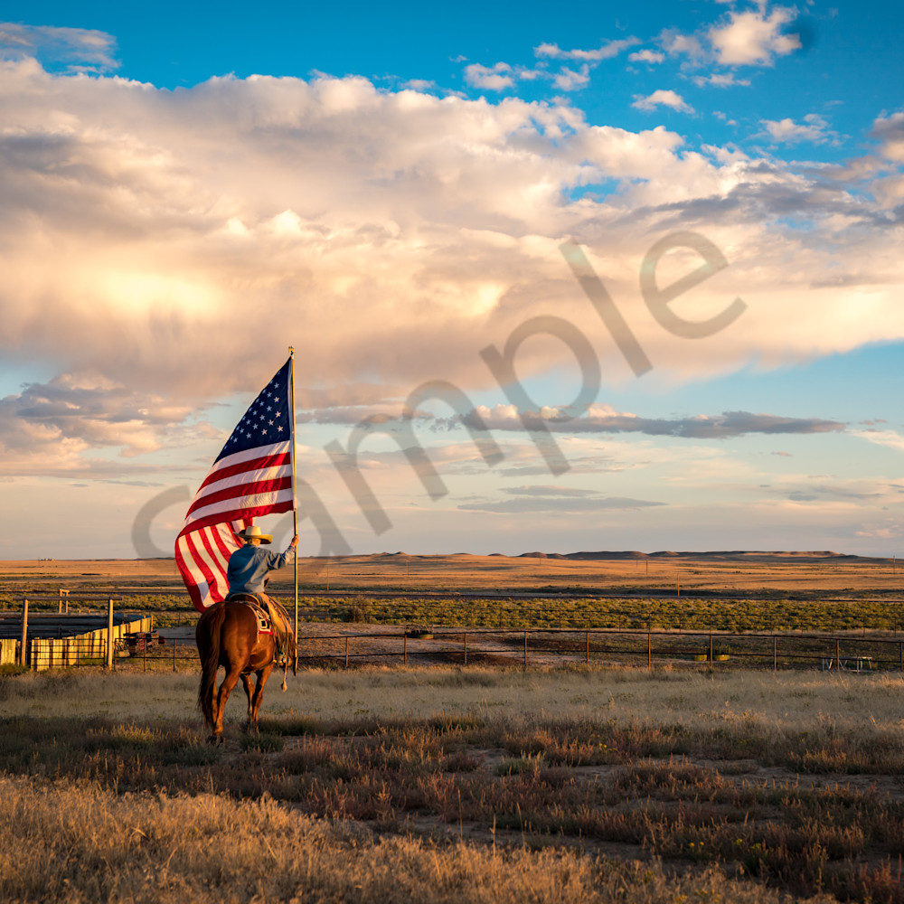 The flag freedom and open range uw4ed0