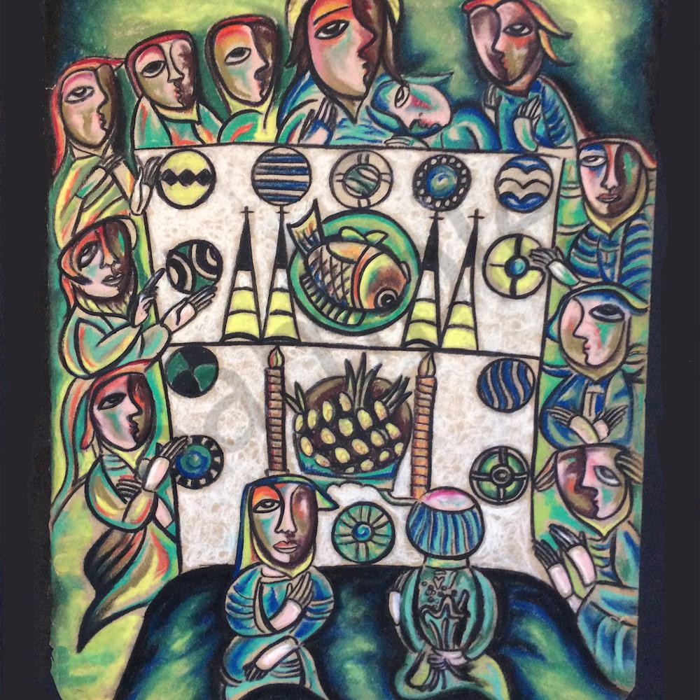 The last supper ii by humberto rebollo sf7m38