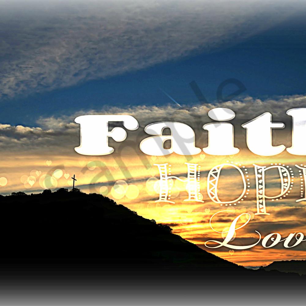 Faith hope love   dsc 4187 cross on the hill easter morning nr txtr sunrise tag2 hdr efct f9ry8i