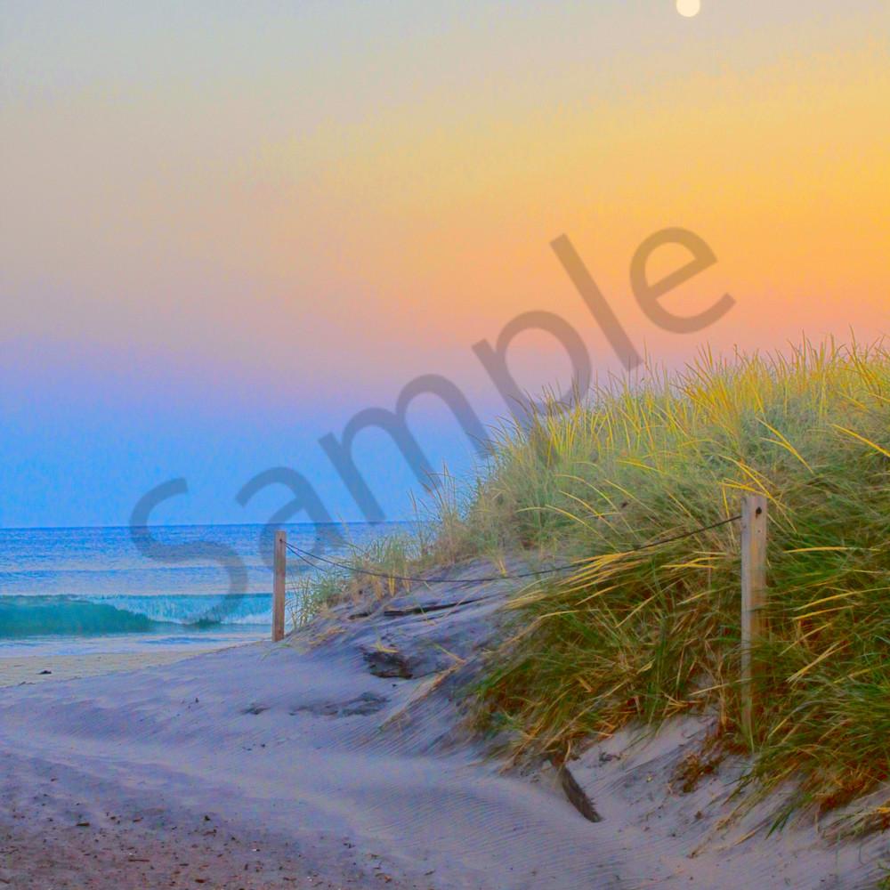 Full moon over dunes lxyf80