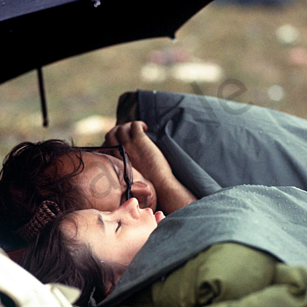 007 couple in sleeping bag 6x4 afpnxr