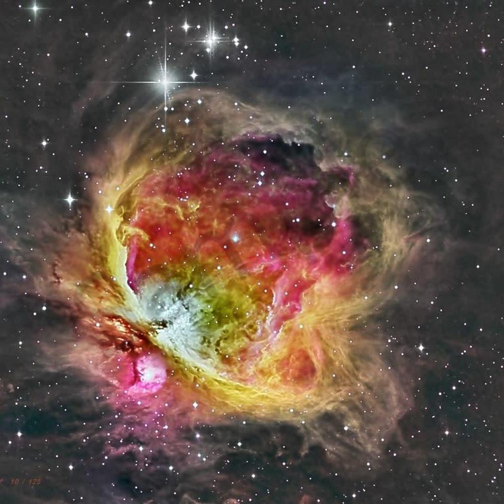 Orion nebula vgkmbk