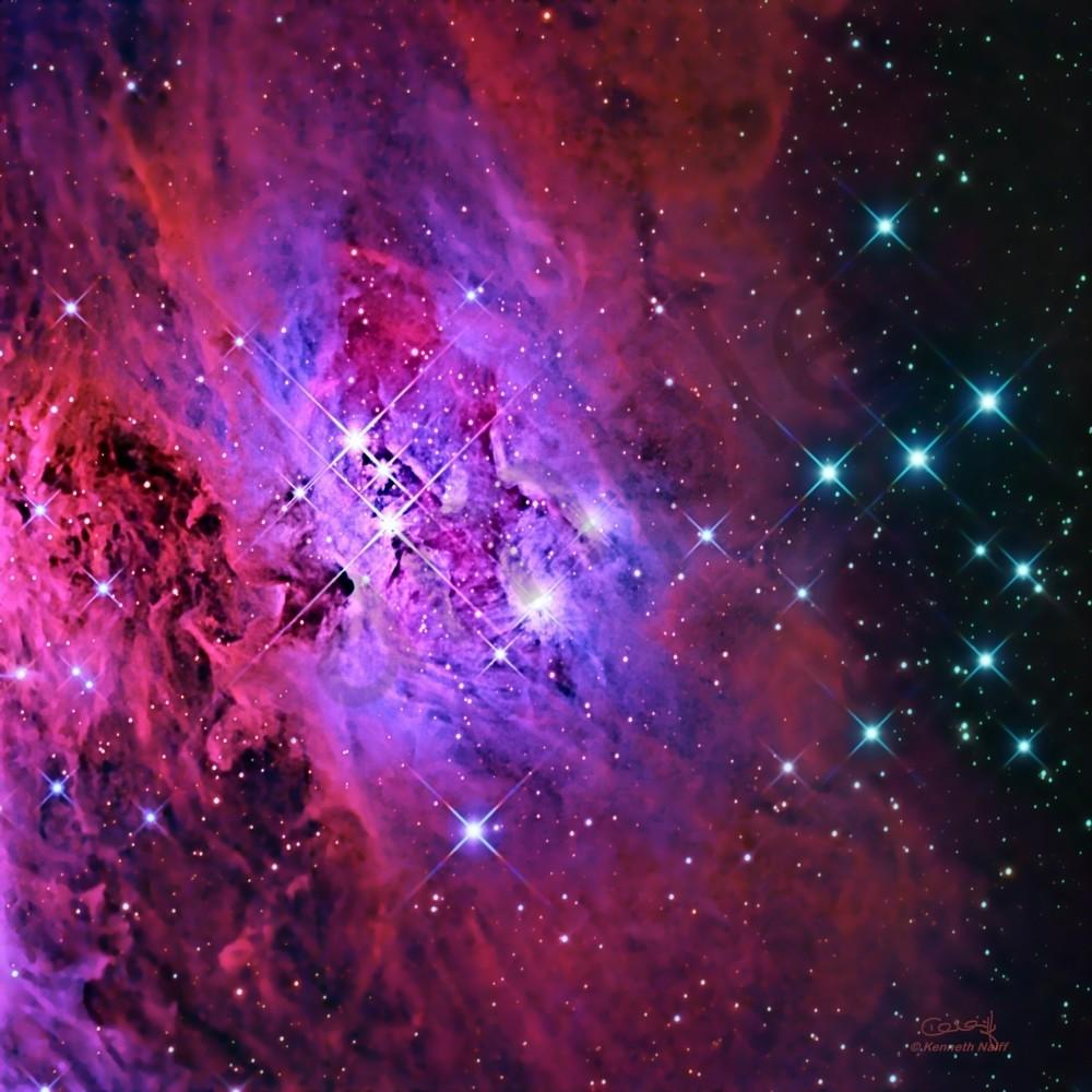 Running man nebula rfbuwb