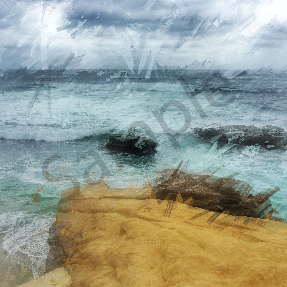 Img 1704   light of the minds   la jolla waves and rocks gray may 2019   abstract enlight148   ps paint daubs art4theglryofgod qpp5ny