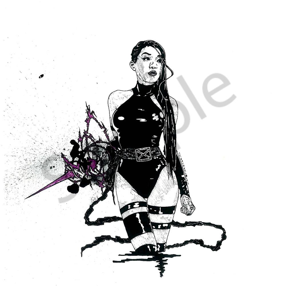 Psylocke  by cezacherl d4yodfh ucid0v