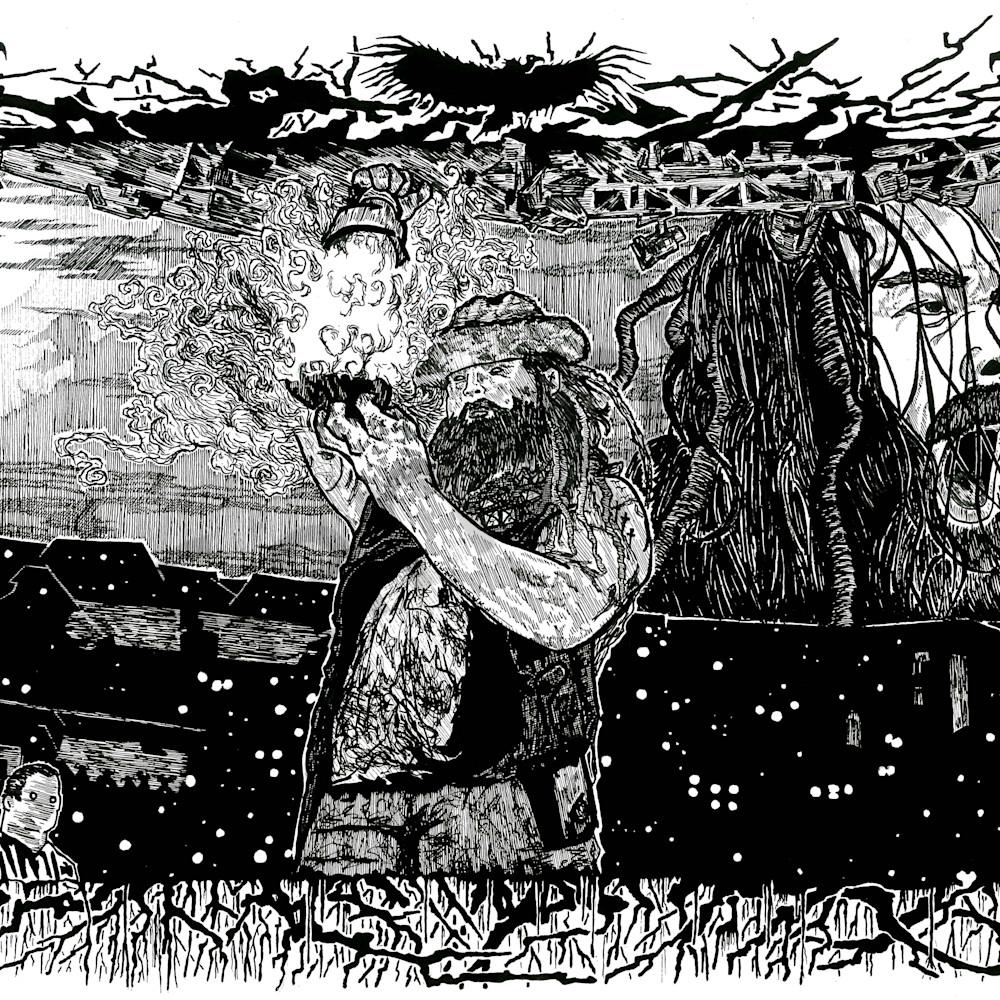 Bray wyatt  eater of worlds by cezacherl daom8f1 awnsii