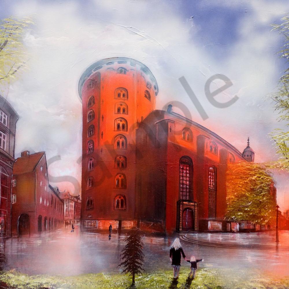 Round tower copenhagen by bo schultz l40kss