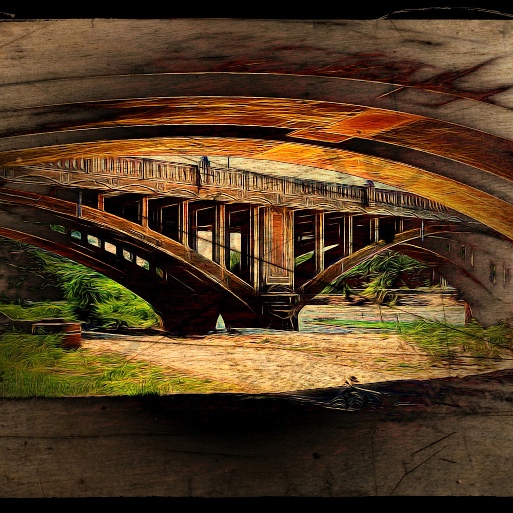 Under the bridge 2 by john w. lewis cfmfcp