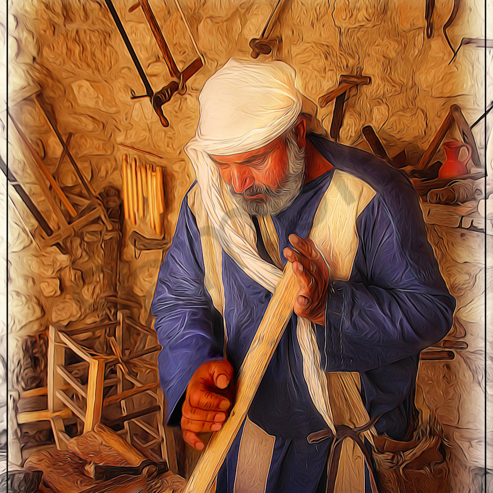 Carpenter of nazareth 2 by john lewis faffho
