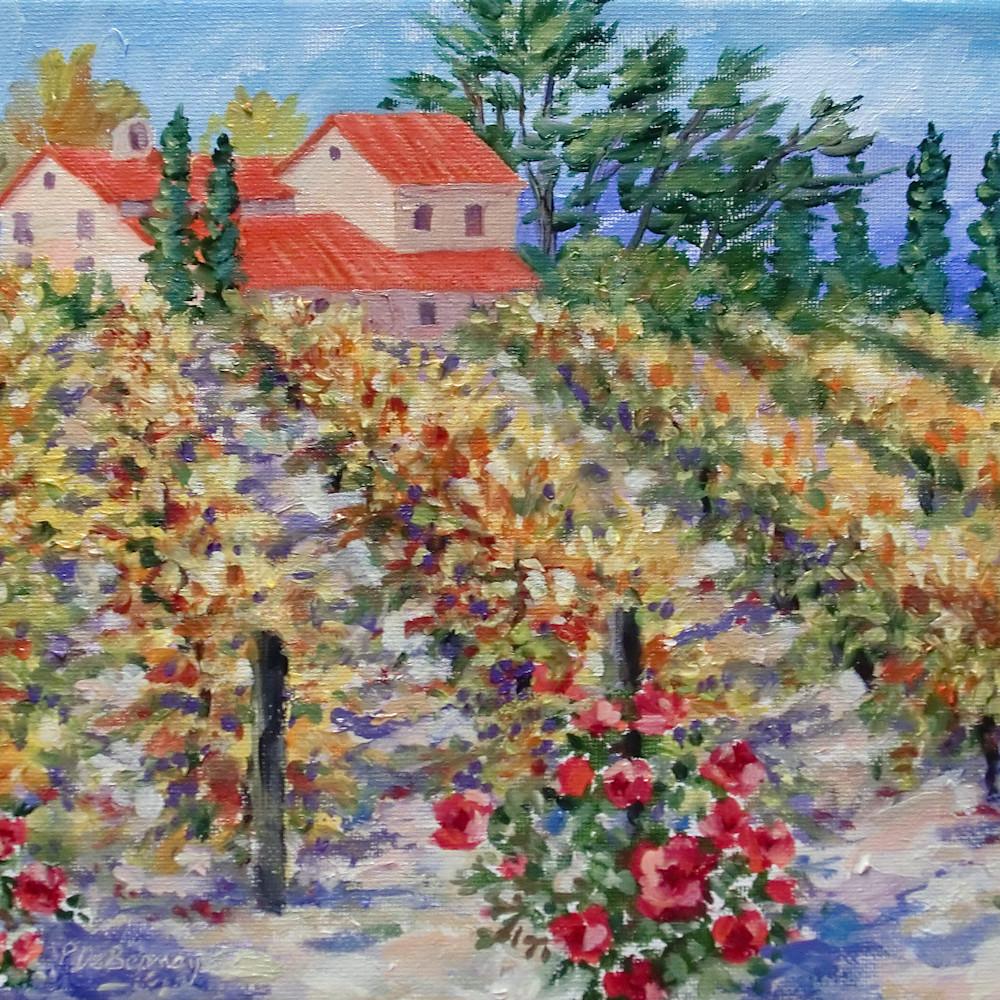 Fall vineyard by jean pierre debernay dtkpz3