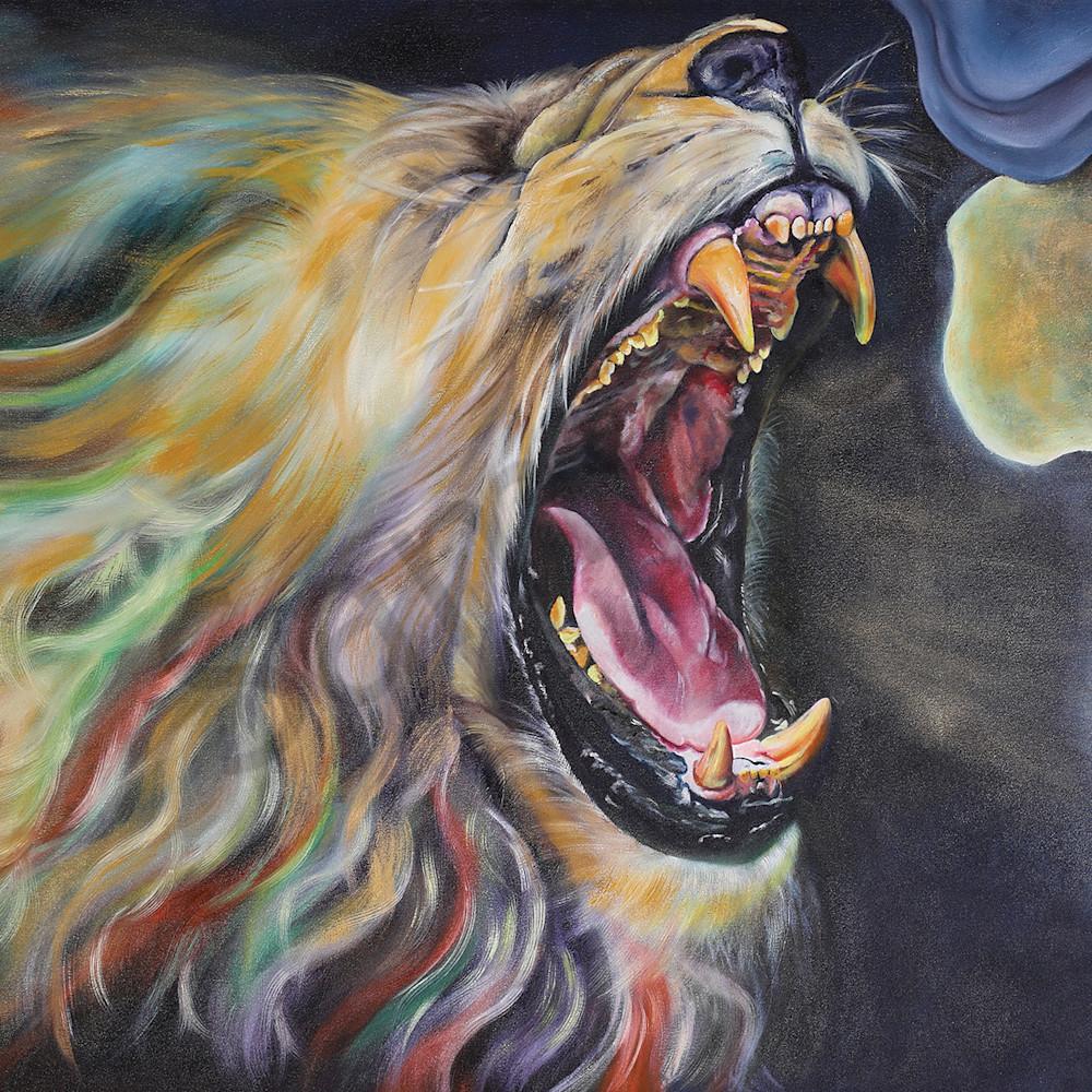 Lion of judah roaring over africa by trudie oostuizen eus4ep