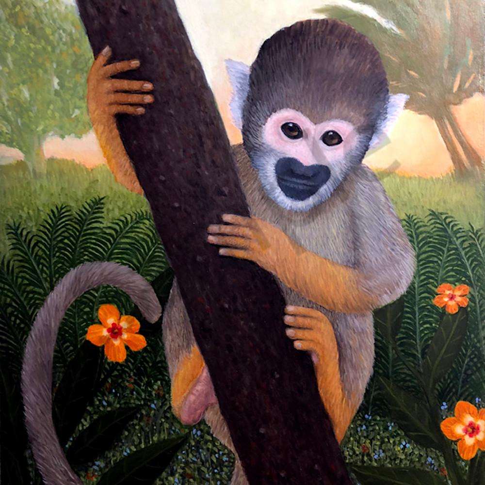 Squirrel monkey asf uz81ae