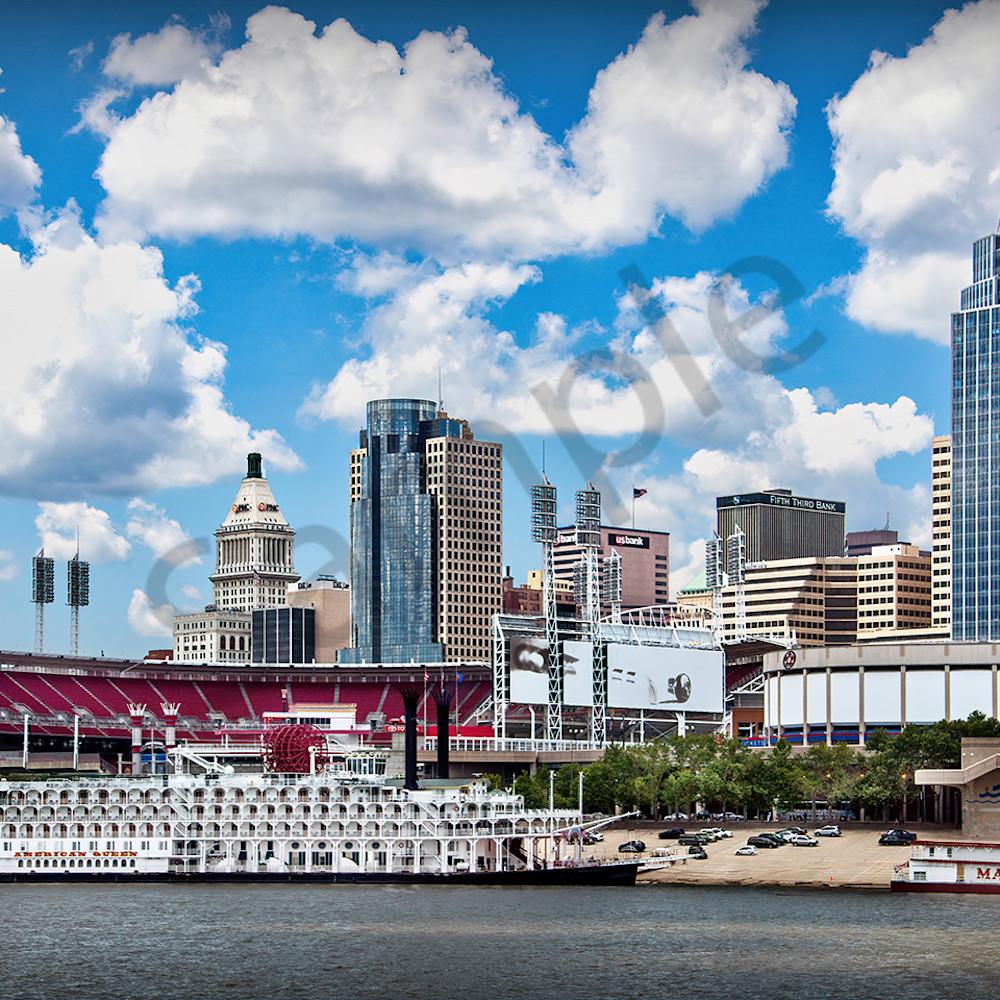 Cincinnati skyline znjwhk