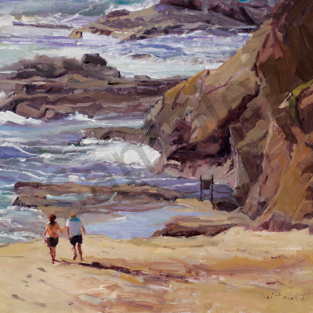 A walk on the beach treasure island 22 x 28 t2ecuy