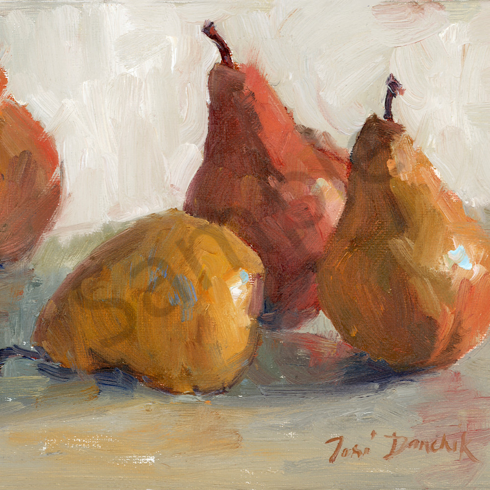 Pears on gray 10 x 8 spg8uy