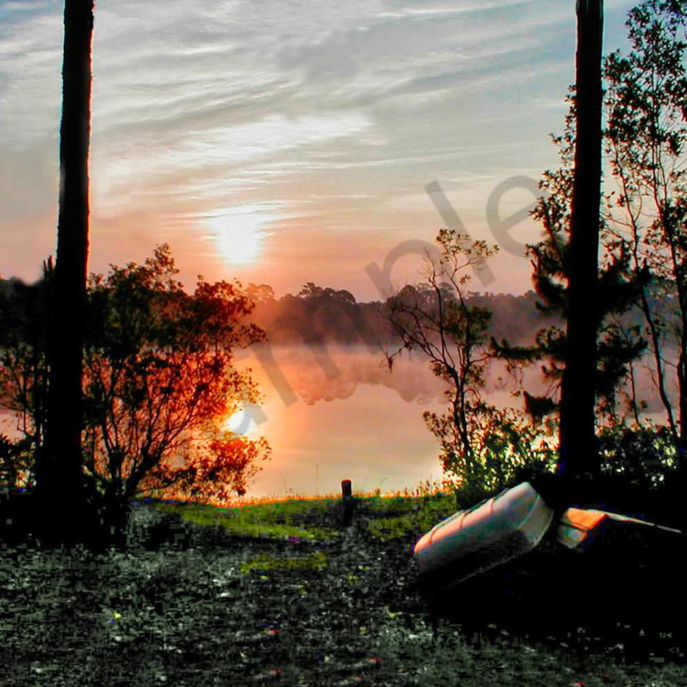 Lake sunrise xvlll5